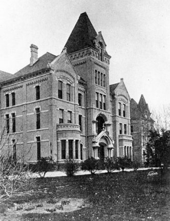 The Administration Building. Early asylum buildings resembled ...